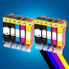 10 ink Cartridges for Canon PGI520 MP620 MP630 MP640 MP980 MP990 MX860 MX870 2