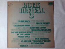 LP ROCK REVIVAL 3 ITALY RARISSIMO JERRY LEE LEWIS CHUCK BERRY OTIS REDDING