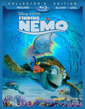 Finding Nemo   *Like New* w/Slip Cover  (Blu-ray/DVD, 2012, 3-Disc Set)