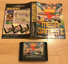 Mega Games 1 Sega Mega Drive - Cartridge & Paper Sleeve Only! No Box Or Manual
