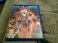 Ps vita ultimate marvel vs capcom  3 game