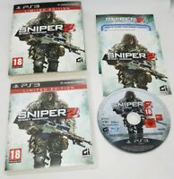 Sniper Ghost Warrior 2: Limited Edition (2013) PlayStation 3 EXCELLENT