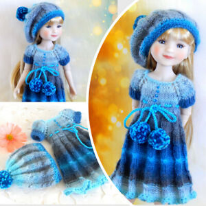 Outfit doll Ruby Red Fashion Friends 14.5 Clothes Dress and beret