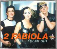 2 Fabiola - Freak Out - CDM - 1997 - Eurodance 4TR Milk Inc. EMI Music France