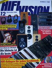 Hifi Vision 12/88 Braun PA 4/ C4, Revox B150/B160, Phonar A 405, T+A Stratos P30