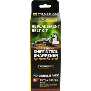 Work Sharp P120 Extra Coarse Belt Kit for Ken Onion WSKTS-KO WSSAKO81117
