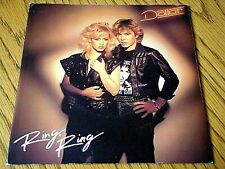 "DOLLAR - RING RING  7"" VINYL (CARD) PS"