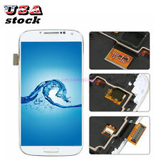 For Samsung Galaxy S4 i545 R970 L720 LCD Touch Screen Frame Digitizer Replace #