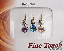 Bindi bijou de peau front bollywood multicolore dot tilak IND-R 1378