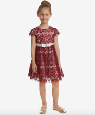 Rare Editions Little Girls Lace Fit & Flare Party Dress Size 6