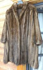 Russischer Bargusin Zobel XL- XXL Mantel Swinger Sable Fur Coat Pelz NEUWERTIG