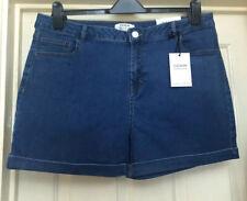 BNWT Dorothy Perkins Blue Soft Denim Shorts Size 20