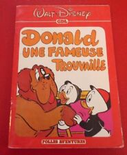 Cardboard French Book Donald Une Fameuse Trouvaille ! Walt Disney