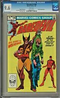 Daredevil #196 CGC 9.6 White Pages Wolverine App