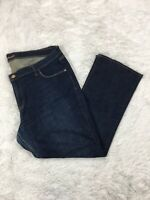 Old Navy Women's Plus Size 20 The Sweetheart Jeans Stretch Bootcut Leg Dark Wash