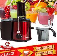 Centrifuga estrattore di succo per frutta e verdura W900 GARANZIA ITALIANA NUOVO