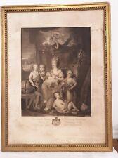 tableau de la Duchesse de montmorency et ses enfants