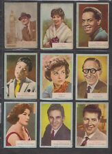 WHO-Z-AT STAR ?   A&BC GUM Cards 1961...Pick your own