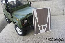 Etiqueta personalizada precortadas comprobar Placa para Gelande D90 RC4WD Land Rover Crawler