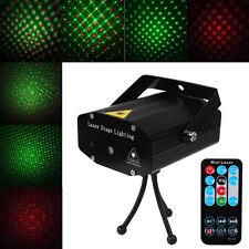 Mini Projecteur laser LED Rouge Vert Jeu Lumière Formation Pr DJ Disco Lighting