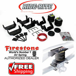 Firestone 2582 Ride Rite Rear Air Bags for 15-20 Ford F150 2WD 4WD 4x4 Ride-Rite