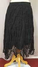 Crocheted skirt Halloween costume witch size XL