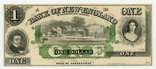 1800's $1 The Bank of New-England at Goodspeeds Landing - Connecticut Note Ch.Cu