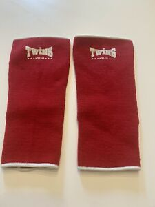 Twins Muay Thai Boxing Ankle Supports Red