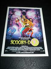 SCOOBY-DOO, film card [Hanna Barbera animation]
