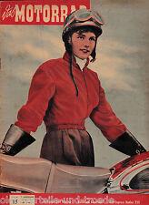 Das Motorrad Heft 15 30.Juli 1955 Test Express Radex 255 Wie fährt ein Mobil
