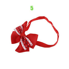 1pc Christmas Dog Cat Pet Puppy Bow Knot Necktie Collar Bow Tie Clothes Cute Toy 5