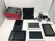 Lot Of 5 Tablets + Cases & Cables, Android, Nexus, Kindle Fire Hd, Ainol