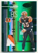 2005 Leaf Certified Materials CHAD JOHNSON Mirror Emerald Patch Rare Bengals #/5
