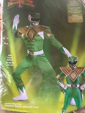 Mighty Morphin Power Rangers - Green Ranger Classic Adult Muscle Costume