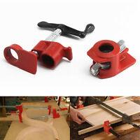 "Heavy Duty Quick Release 3/4""Wood Gluing Pipe Clamp For Woodworking Cast Iron UK"