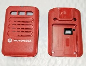 Motorola Minitor VI 6 Replacement Housing Front & Back - Red