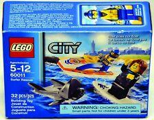 Lego City 60011 Surfer Rescue Shark  32 Pcs NIB