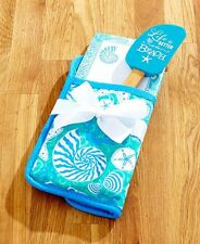 Better at the Beach 3 Pc Pot Holder Kitchen Set List Pad Spatula Home Decor Gift