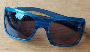 Max Mara Blue Square Sunglasses New