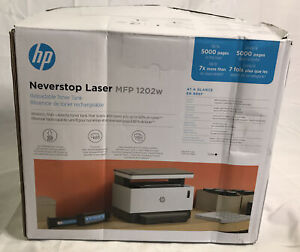 HP Neverstop All-in-One Wireless Black & White Laser Printer MFP 1202w 5HG92A