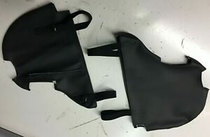 Harley Lower Fairing Mustache cover w/ extra foot peg cutouts