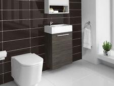 Meuble de salle de bain Athene Chêne gris 40x20 cm Armoire de rangement Meuble l