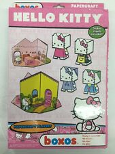 Funko Hello Kitty Boxos Papercraft Playset NEW