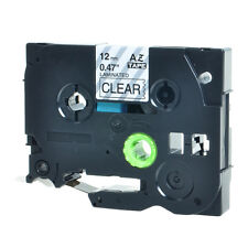 20PK TZ 131 TZe 131 Black on Clear Label Tape For Brother PT-520 PT-530 12mm