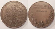 Grande Médaille Anciens combattants Algérie, Maroc et Tunisie 1958-1978 !!