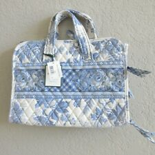 Vera Bradley Hanging Organizer BLUE TOILE  Floral Travel Bag New with Tags