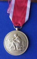 Société Industrielle De ROUEN , Médaille En Argent Vermeil