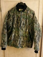 Vintage Ideal Camouflage Jacket Men's Medium Hunting Camo Made In USA