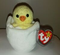 Ty Beanie Baby - EGGBERT the Egg in Chick (6 Inch) MINT with MINT TAGS