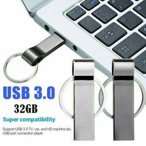 USB Stick 32GB Metall U-Disk Flash Laufwerk Schlüsselanhänger Speicherstick DE